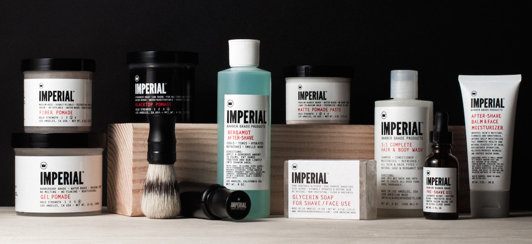 Take Care with Imperial Barber Products