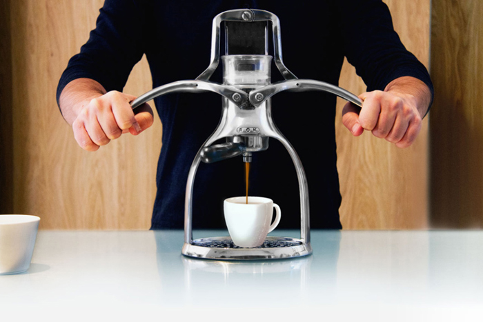 ROK Manual Espresso Machine