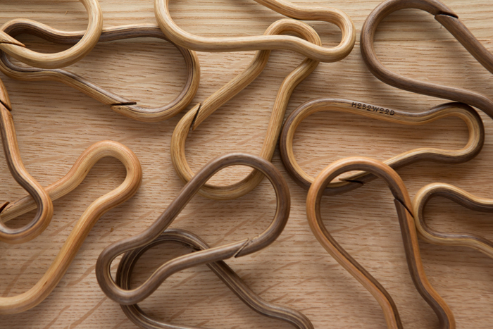 HoboWood Solid Wood Carabiners