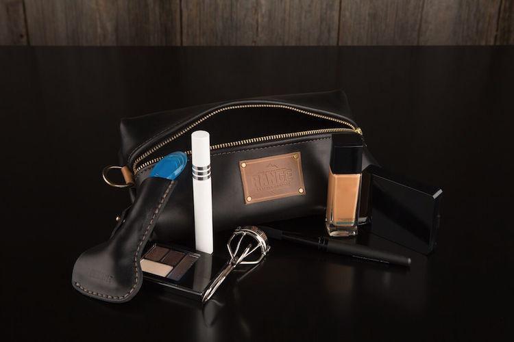Travel Bag & Razor Case by Range Leather Co.
